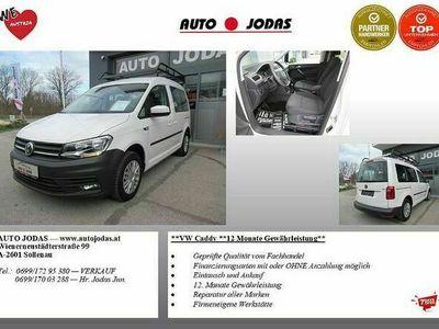 gebraucht VW Caddy Kastenwagen Entry 1,6 TDI **1.Besitz/2x Schiebetüren/Dachgalerie** Transporter / Kastenwagen
