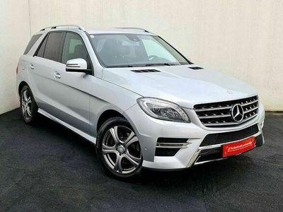 gebraucht Mercedes ML350 M-KlasseBlueTEC 4MATIC AMG-Edition Aut.//1.BESITZ// SUV / Geländewagen