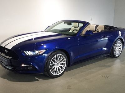 gebraucht Ford Mustang 2,3 EcoBoost Cabrio Aut. Cabrio / Roadster