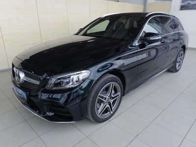 gebraucht Mercedes C220 d 4MATIC T-Modell AMG Comand Night Sportpake