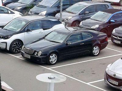 gebraucht Mercedes CLK230 kompressor Sportwagen / Coupé