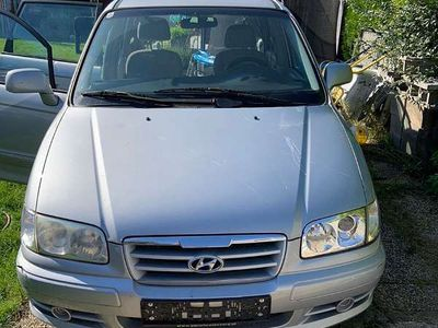gebraucht Hyundai Trajet 2.0crdi Kombi / Family Van