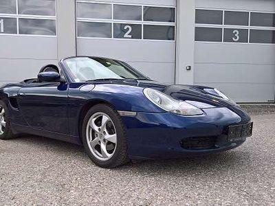 gebraucht Porsche Boxster 2,7l Facelift, Xenon, Leder, SHZ Cabrio / Roadster,