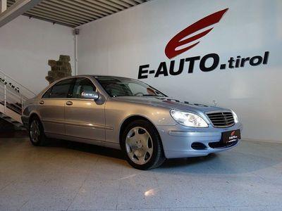 gebraucht Mercedes S600 S-Klasse*LANG* *12-ZYLINDER* *VOLL* *NEUWERTIG* *... Limousine,