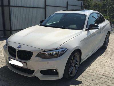 gebraucht BMW 220 2er-Reihe d Coupé M Paket Sportwagen / Coupé