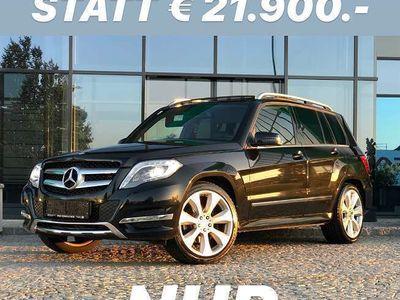 gebraucht Mercedes GLK220 GLK-KlasseCDI LEDER AUTOMATIK AHK XENON PANORAMA NAVI / 20 ZOLL SUV / Geländewagen