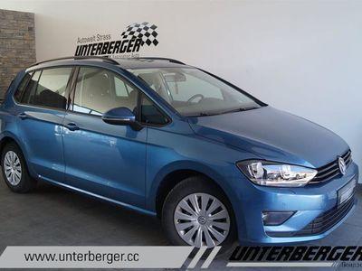 gebraucht VW Golf Sportsvan Trendline 1,6 BMT TDI Limousine,
