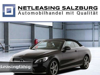 used Mercedes C200 Cabrio AMG+Cabrio-Komf+Navi+LED High+Airsc