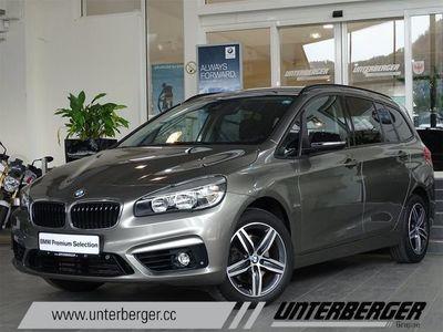 gebraucht BMW 218 Gran Tourer i / Navi/ Anhaengerkupplung