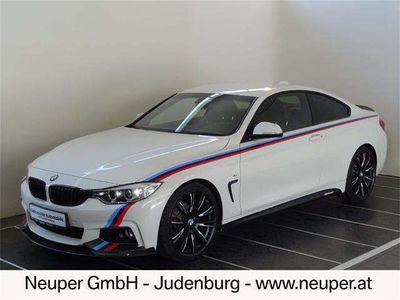 gebraucht BMW 420 4er-Reihe d Coupe Österreich-Paket Sportwagen / Coupé
