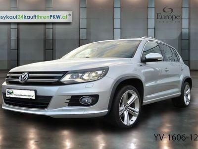 gebraucht VW Tiguan 2,0 TDI BMT 4Motion / R-Line / DSG / Xenon