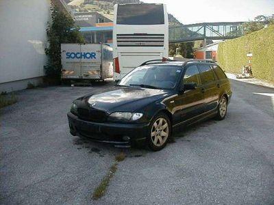 gebraucht BMW 318 //3er-Reihe Kombi Diesel (E46) m-Paket/leder//