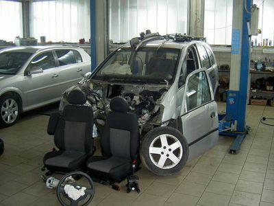 gebraucht Opel Meriva 1,6 16V Flexxline Easytronic Kombi
