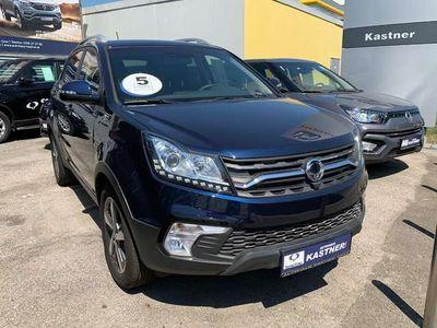"""gebraucht Ssangyong Korando Limited 4WD Aut. """"COOL"""" SUV / Geländewagen,"""