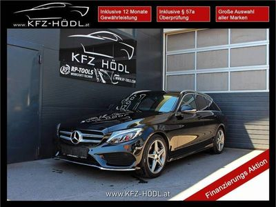 gebraucht Mercedes C200 BlueTEC AMG Line A-Edition Aut.