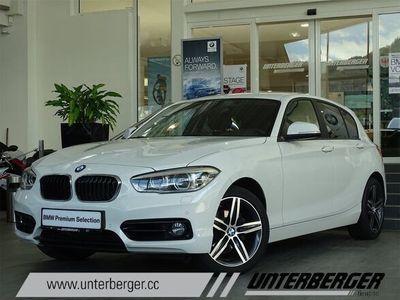 gebraucht BMW 118 1er-Reihe d Sport Line Aut. Limousine