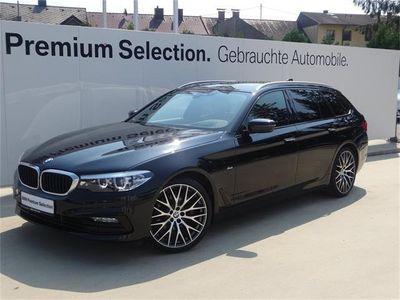 usata BMW 520 5er-Reihe d Touring Aut. Kombi / Family Van,