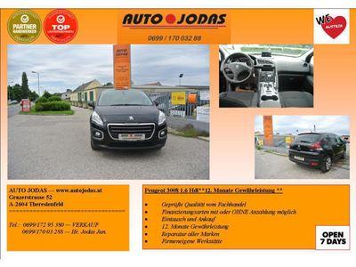 gebraucht Peugeot 3008 1,6 BlueHDi 120 S *12 Monate Gewährleistung*
