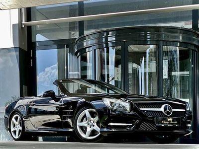 gebraucht Mercedes SL350 V6 306PS ///AMG-PAKET #DISTRONIC #AIRSCARF #VOLL