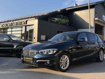 gebraucht BMW 118 d Aut. Urban Line/ LED/ NAVI/ Teilleder/ SHZG