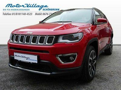 gebraucht Jeep Compass 2,0 MultiJet AWD 9AT 140 Limited Aut. SUV / Geländewagen