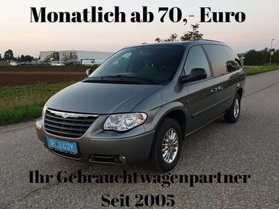 gebraucht Chrysler Grand Voyager 2,8 Bus.Stow'n Go On-Top Pak.Aut.