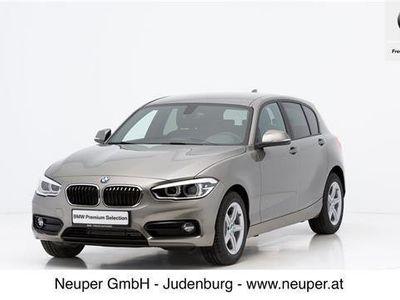 gebraucht BMW 116 1er-Reihe d Sport Line Limousine,