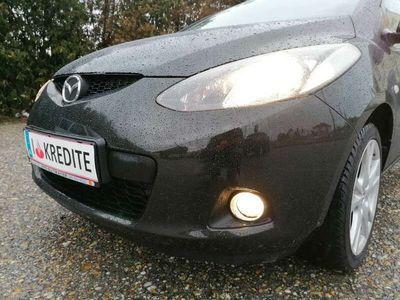 gebraucht Mazda 2 1,3i GT-Edition,1.BESITZ+Cosmosschwarz+ALU+GT Line