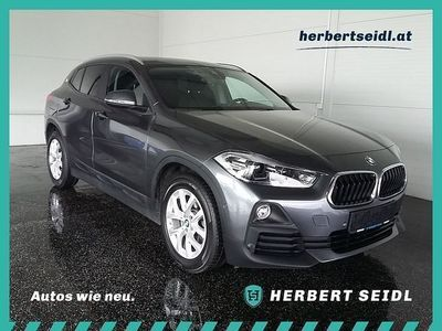 gebraucht BMW X2 xDrive20d Advantage Aut. *LED / AHV / NAVI* SUV / Geländewagen,
