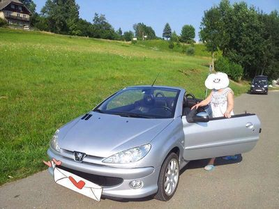 gebraucht Peugeot 206 CC Cabrio / Roadster