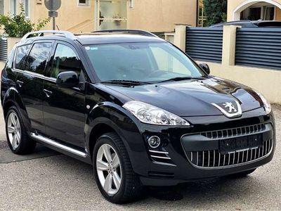 gebraucht Peugeot 4007 2,2 HDi Exclusive Aut. *LEDER,NAVI, KAMERA*