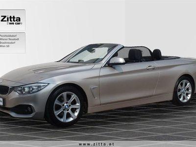 gebraucht BMW 420 4er-Reihe d Cabrio Österreich-Paket Cabrio / Roadster,