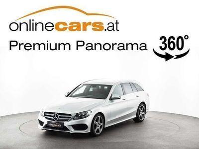 gebraucht Mercedes C220 C-Klassed T AMG-Line LEDER SHZ MEGAPREIS Kombi / Family Van,