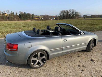 gebraucht Audi A4 Cabriolet S-Line Cabrio / Roadster
