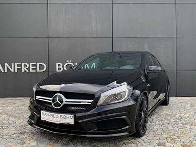 gebraucht Mercedes A45 AMG A-Klasse4MATIC - Automatik - TOP Ausstattung - Driver´s Package! Klein-/ Kompaktwagen