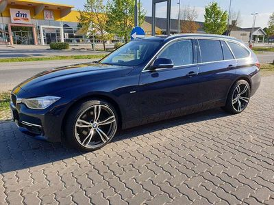 gebraucht BMW 330 3er-Reihe3er-Reihe Kombi Diesel (F31) Luxury Line Kombi / Family Van,