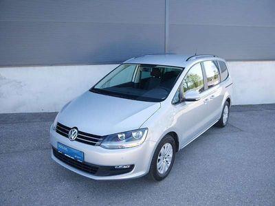 gebraucht VW Sharan Trendline BMT SCR 2,0 TDI, Klima, PDC co. vo. u. hi. Scheiben ab B-Säule abge. Kombi / Family Van