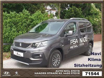 gebraucht Peugeot Rifter 1,2 PureTech 110 S&S Allure Kombi / Family Van,