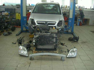 gebraucht Opel Meriva 1,7 Edition CDTI Teileverkauf Kombi / Family Van,