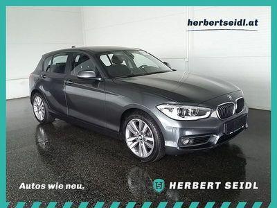 gebraucht BMW 118 1er d Advantage *NP € 39.283,- / LED / NAVI*, 150 PS, 5 Türen, Schaltgetriebe