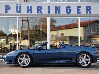 gebraucht Ferrari 360 Spider F1 *Topzustand*Top Historie*