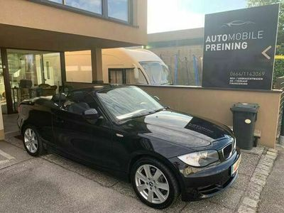 gebraucht BMW 118 Cabriolet 1er-Reihe Cabrio (E88) Österreich-Paket