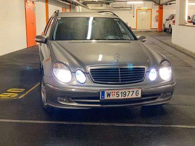 gebraucht Mercedes E270 E-Klasse W211CDI AVANTGARD Kombi / Family Van