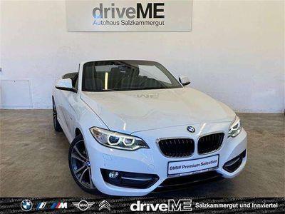 gebraucht BMW 220 i Cabrio F23 *AUTOMATIK*SPORT LINE*XENON*