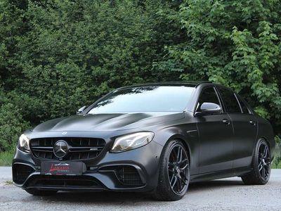 gebraucht Mercedes S63 AMG E-Klasse EAMG 4MATIC+ Aut. *CARBON SPECIAL EXTERIEUR* ALLBLACK 1 OF 1 *MWSt ausweisbar* Limousine