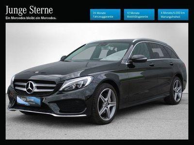 gebraucht Mercedes C220 d T 4MATIC Austria Edition AMG Line Aut. *AMG-Line*Navi*LED*