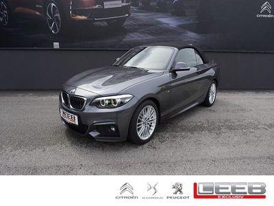 gebraucht BMW 220 2er Cabrio i Cabrio Aut. M-Paket/Navi/LED/ uvm., M-Sport, 184 PS, 2 Türen, Automatik