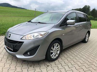gebraucht Mazda 5 1.6 Tdi 1.Bes*7 Sitze*Temp*AHK*PDC*Scheckh gepfl!