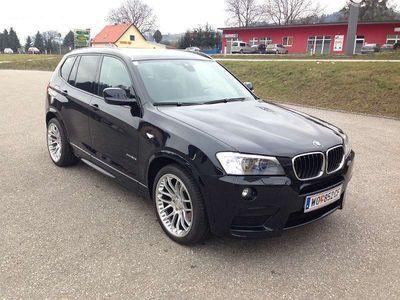 """gebraucht BMW X3 Xdrive 20d M Sportpaket Navi Prov Head Up LM 20"""""""