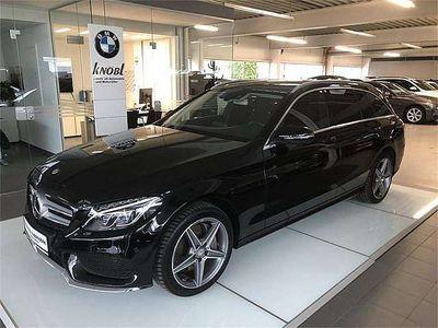 gebraucht Mercedes C250 C-KlasseT AMG Line A-Edition Plus Aut. Kombi / Family Van,